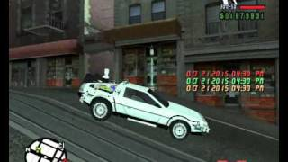GTA San Andreas Back To The Future Mod