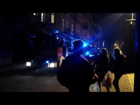 Akcja Straży Pożarnej Na Wyszyńskiego W Sosnowcu 24.11.2016
