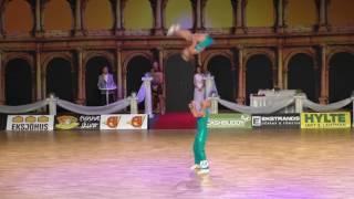 Jeanette Uhl & Mario Bludau - Europameisterschaft 2016