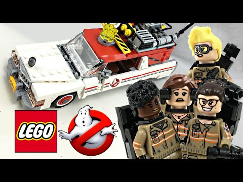 LEGO Ghostbusters 2016 Ecto-1 & 2 set review! 75828