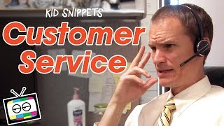 "Kid Snippets: ""Customer Service"" (Imagined by Kids)"