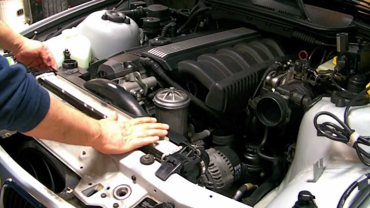 bmw radiator  cooling system  water pump upgrade