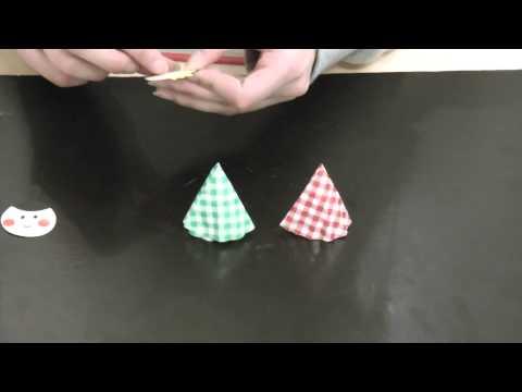 お雛様のポシェット :: VideoLike : ひなまつり 折り紙 : 折り紙