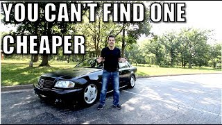 I bought a Mercedes-Benz C43 AMG for $200! Here's how & what's wrong with it.