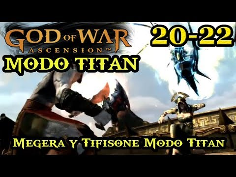 "RETO ""MODO TITAN"" GOD OF WAR: ASCENSION 