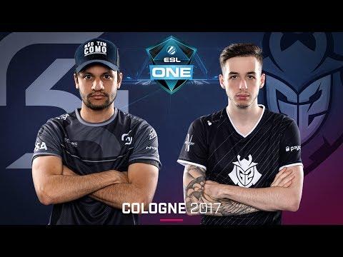 CS:GO - SK vs. G2 [Inferno] - Swiss Round 4 - ESL One Cologne 2017