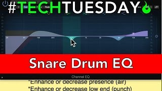 How to EQ a Snare Drum - #AscensionTechTuesday - EP053