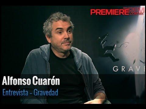 Entrevista Alfonso Cuarón por Gravedad