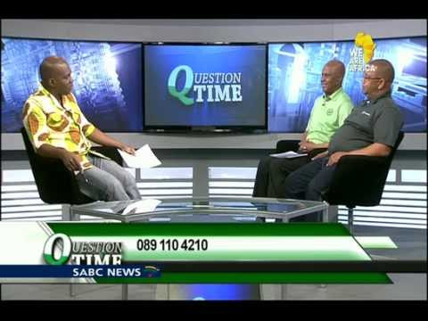 Question Time: SA's mining industry, 19 May 2015