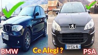 BMW 118D 0-100 Kmh si de ce am renuntat la Peugeot 407 ?