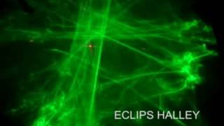 Eclips Halley 3 Renk Led Efektli Bulut Lazer