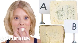 Cheese Expert Guesses Cheap vs Expensive Cheeses | Epicurious