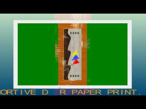 JALARAM PAPER DECORTIVE DOOR PAPER PRINT  0011