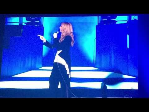 Celine Dion en concert Paris 2016 :  Encore Un Soir