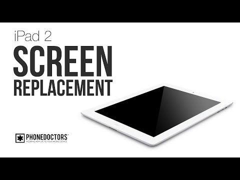 iPad 2 Broken Screen - Digitizer Replacement Comprehensive Guide Music Videos