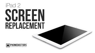 iPad 2 Broken Screen - Digitizer Replacement Comprehensive Guide