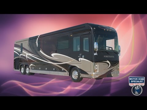 $1.3M 2015 Foretravel Luxury Motorcoach Review @ Motor Home Specialist