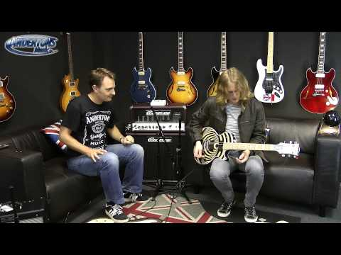 Gibson Les Paul Zakk Wylde demo Featuring Sam Coulson