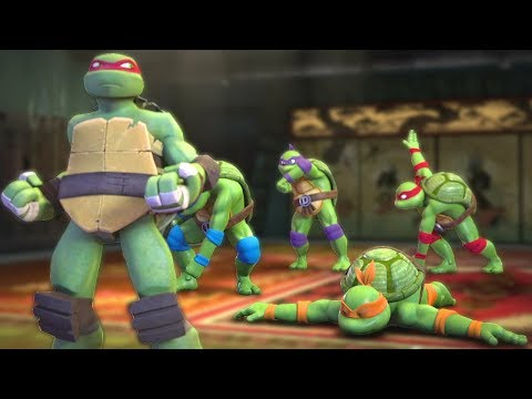 Teenage Mutant Ninja Turtles Legends - Episode 102 - Turtles Funny Training Montage