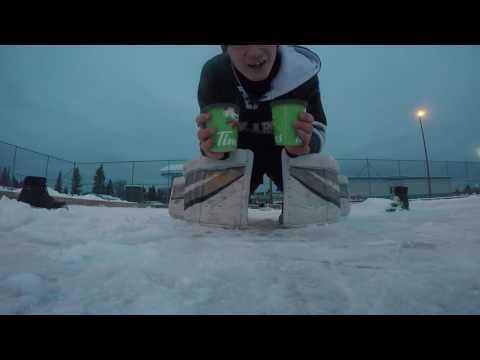 outdoor Gopro hockey