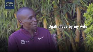 Quick fire with Eliud Kipchoge