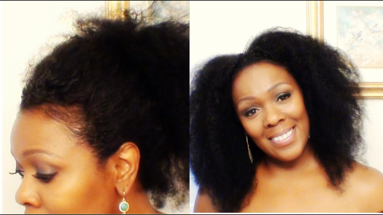 How I Get My Natural Hair Edges Laid Nice And Smooth