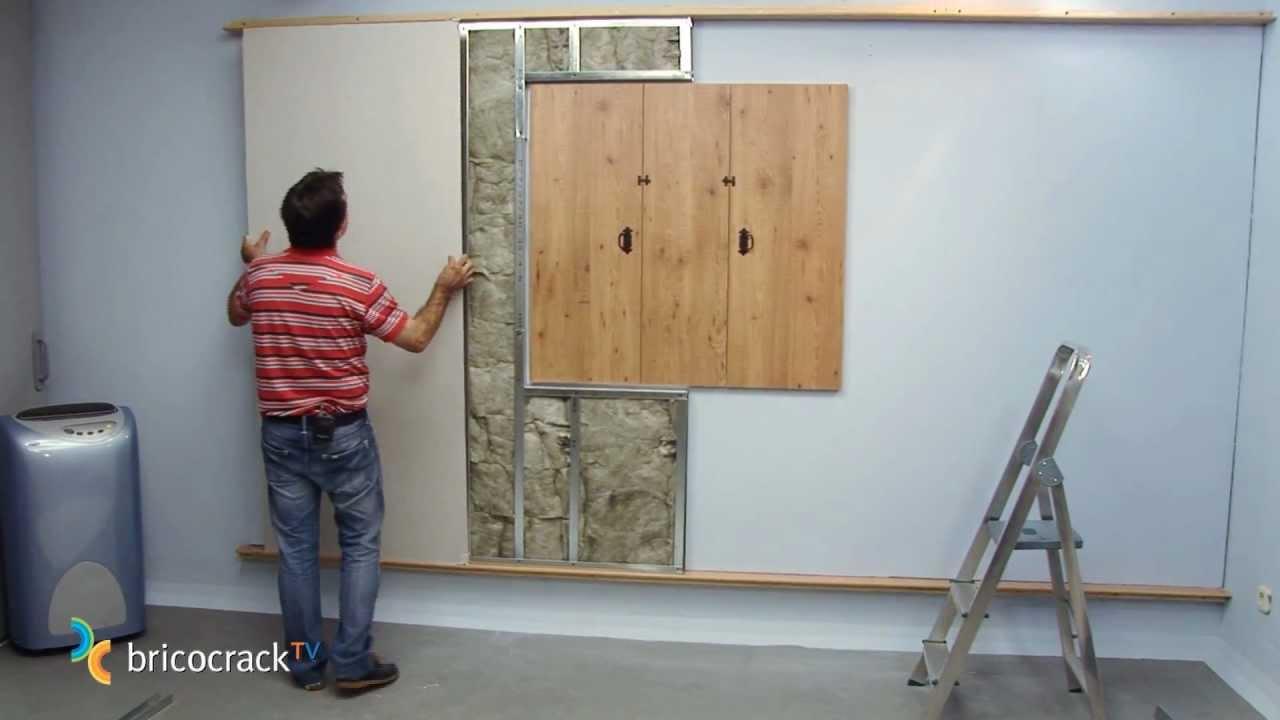 Aislamiento t rmico y ac stico de una pared bricocracktv - Como solucionar humedades en paredes ...