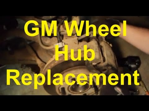 How To Replace The Wheel Bearing/Hub on GM Sierra Silverado etc
