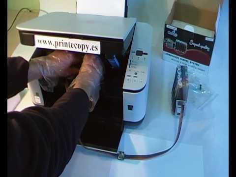 Instalación CISS en CANON MP250 Printecopy.