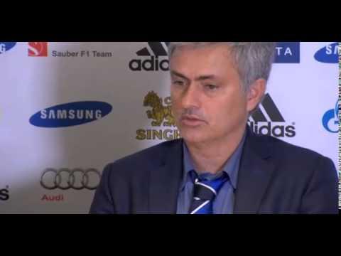 Video: Jose Mourinho criticises 'sleeping' Chelsea fans