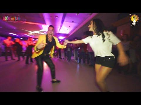 Johnny Vazquez & Maria Lizeth Salsa Dance Video  | 1.EIDC