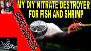 DIY NITRATE REACTOR VERSION 2 FOR FISH AND SHRIMP..