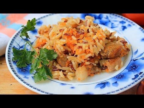 Рис с мясом в горшочках в духовке рецепт с пошагово