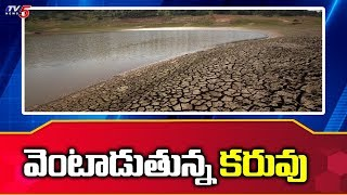 Drought Conditions In Manjeera And Sri Ram Sagar Project | TV5