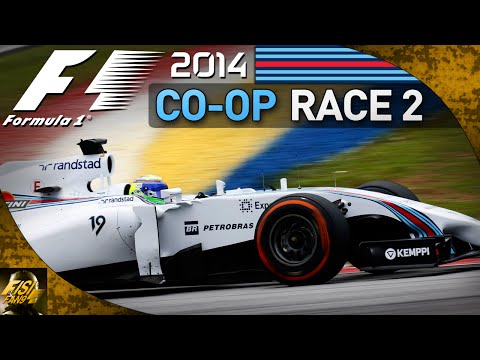 F1 2014 | Co-op Championship - Race 2 Malaysia (Live Commentary...