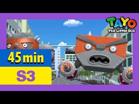 [Tayo S3] Full Episodes S3 E23-E26 (7/7) l Tayo's earth defense plan l Somebody help us l