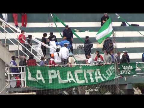 Imágenes de la suspensión del encuentro entre Unión y Neuquén por la Liga Paranaense