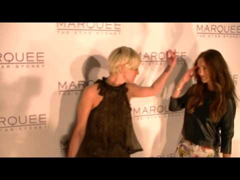 Ashlee Simpson, Minka Kelly at the Marquee Star City Casino