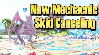 Super Smash Bros. Ultimate: NEW MECHANIC - Skid Canceling (RGR)