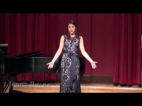 Jenna Burns Junior Recital Highlights