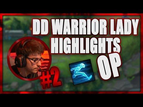 DD Warrior Lady Highlights #2 | Ghost OP #1