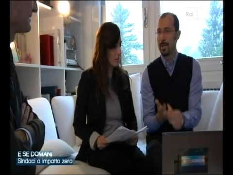 E se domani (3/12/2011) – Paola Maugeri e Simone Molteni a casa di Attilio Fontana