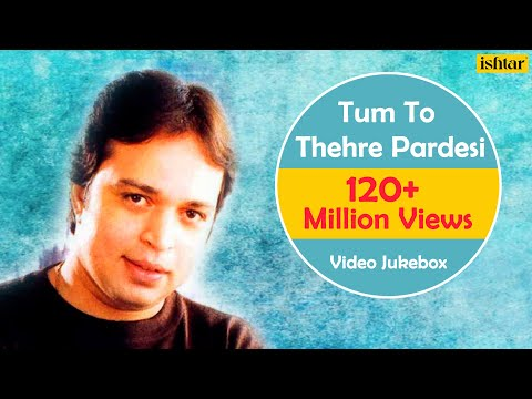 Tum To Thehre Pardesi   Altaf Raja   Best Hindi Album Songs   Video Jukebox - Romantic Hits