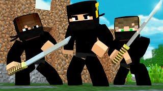 Minecraft: ESCADONA - NINJAS ‹ AM3NlC ›