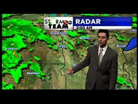 meteorologist ben dery s resume reel