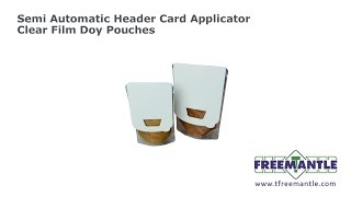 T Freemantle Ltd - Header Card Applicator Doy Pouches