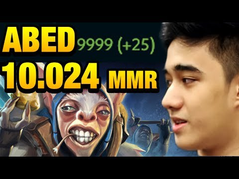 Abed Best Meepo - the First 10k MMR Player In Dota 2 History