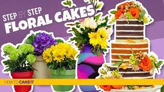 3 DELICIOUS Floral Cakes | Spring Inspired CAKES | How To Cake It | Yolanda Gampp