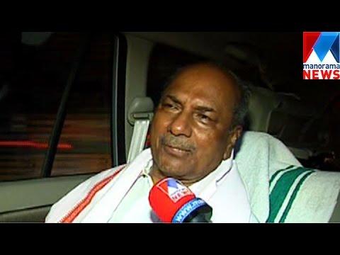 AK Antony's statements on Majority Communities and CM | Manorama News