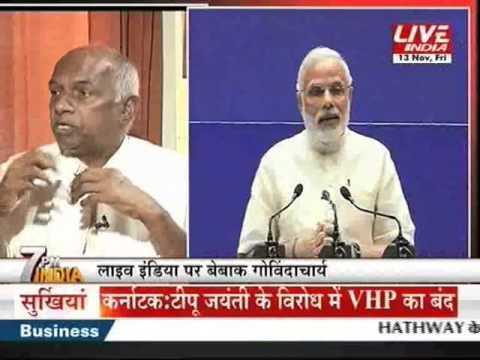 Live India Exclusive Govindacharya on Defeat of BJP in Bihar Election